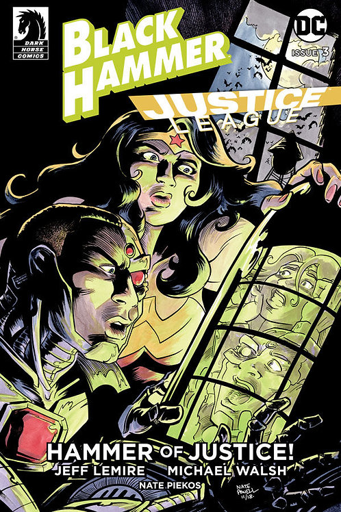 BLACK HAMMER JUSTICE LEAGUE #3 (OF 5) CVR B POWELL