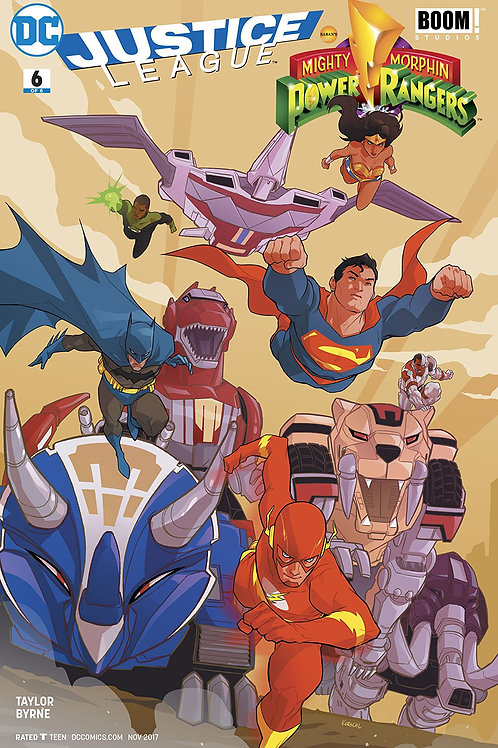 JUSTICE LEAGUE POWER RANGERS #6 (OF 6) (RES)