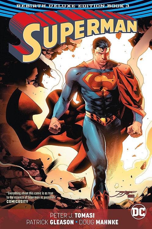SUPERMAN REBIRTH DLX COLL HC BOOK 03
