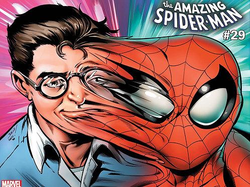 AMAZING SPIDER-MAN #29 BAGLEY IMMORTAL WRPAD VAR