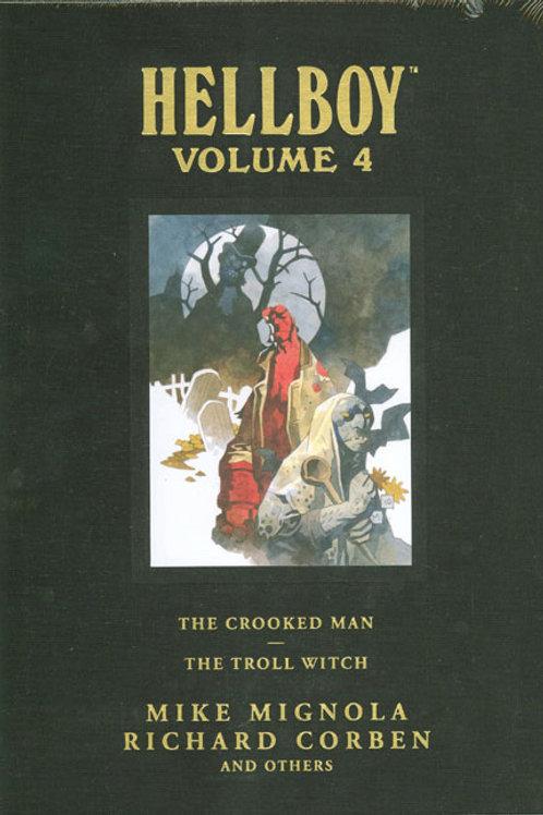 HELLBOY LIBRARY HC VOL 04 CROOKED MAN