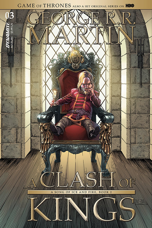 GAME OF THRONES CLASH OF KINGS #3 CVR A MILLER