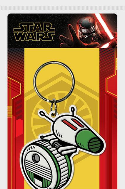 Лицензионный брелок Star Wars: The Rise of Skywalker (D-O)