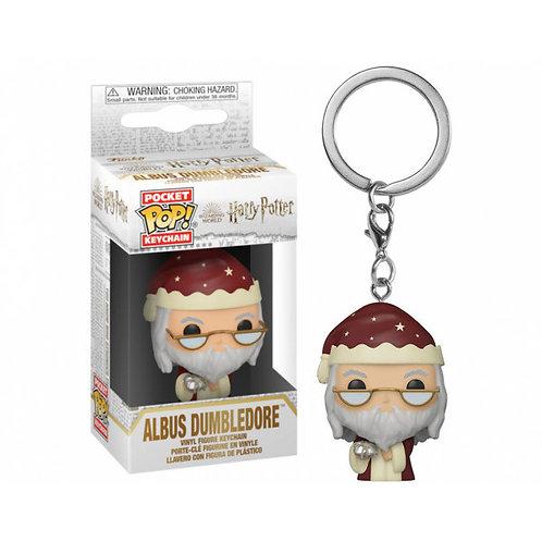 Брелок Funko Pocket POP! Keychain: Harry Potter: Holiday: Dumbledore