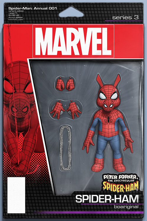 SPIDER-MAN ANNUAL #1 CHRISTOPHER ACTION FIGURE VAR