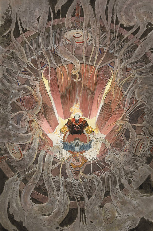 RASPUTIN VOICE OF DRAGON #5 (OF 5) KALUTA VAR