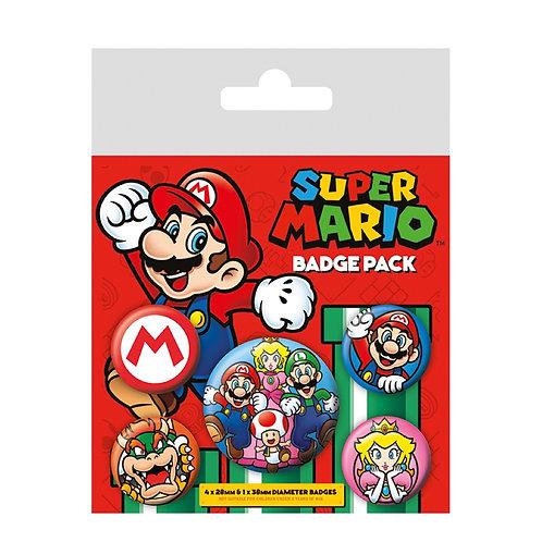 Набор лицензионных значков Super Mario