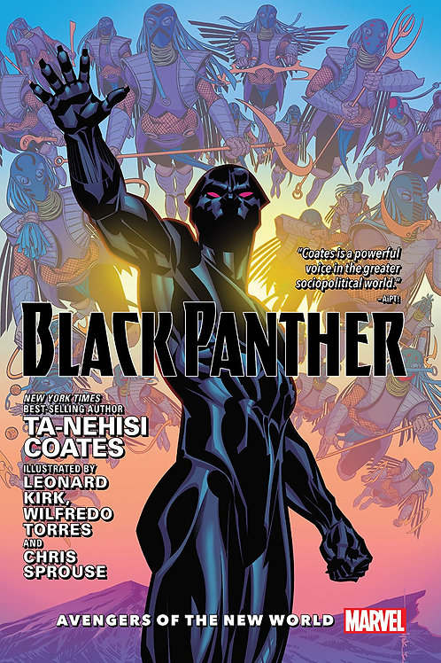 BLACK PANTHER HC VOL 02 AVENGERS OF NEW WORLD