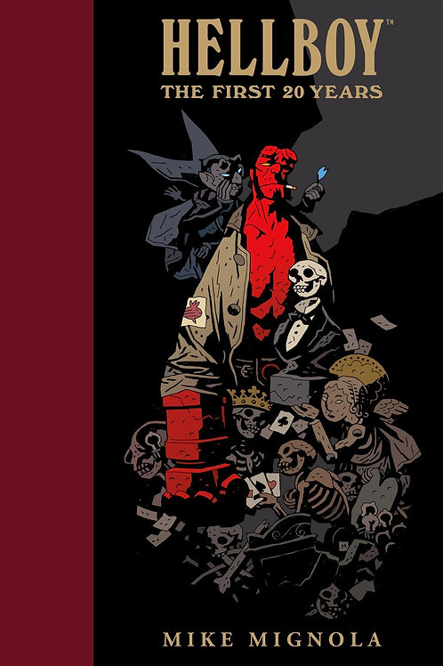 HELLBOY FIRST 20 YEARS HC