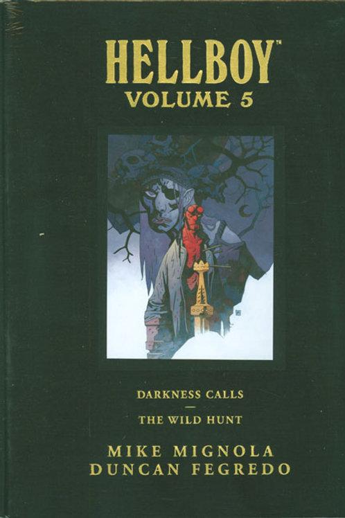 HELLBOY LIBRARY HC VOL 05 DARKNESS CALLS WILD HUNT