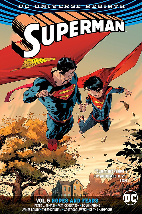 SUPERMAN REBIRTH TP VOL 05 HOPES AND FEARS