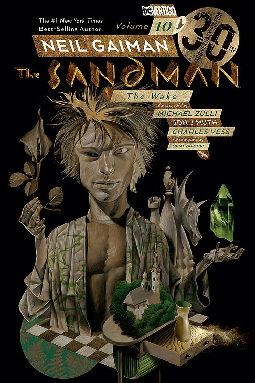 SANDMAN TP VOL 10 THE WAKE 30TH ANNIV ED