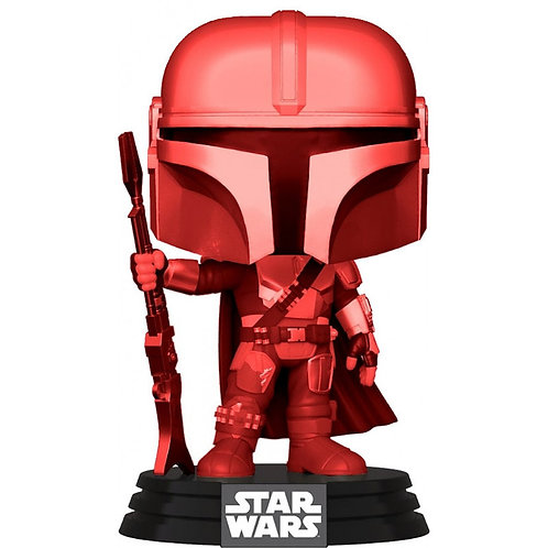 Копия Фигурка Funko POP! Bobble: Star Wars: Mandalorian: The Mandalorian (Final)
