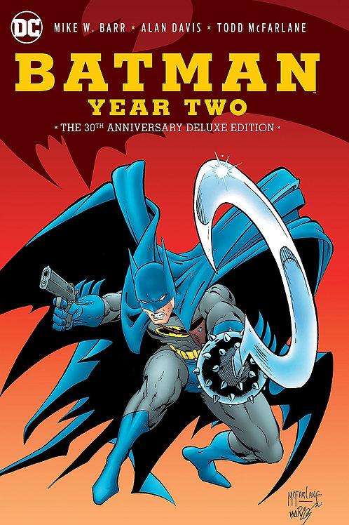 BATMAN YEAR TWO 30TH ANNIVERSARY DLX ED HC