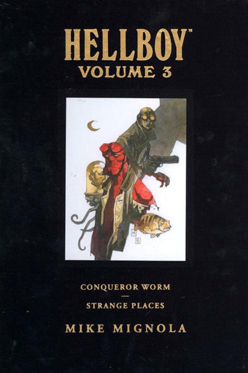 HELLBOY LIBRARY HC VOL 03 CONQUEROR WORM