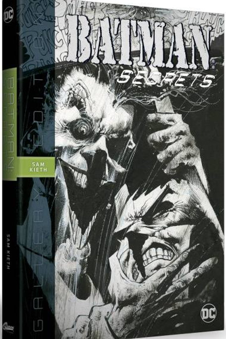 BATMAN SECRETS SAM KIETH GALLERY ED HC