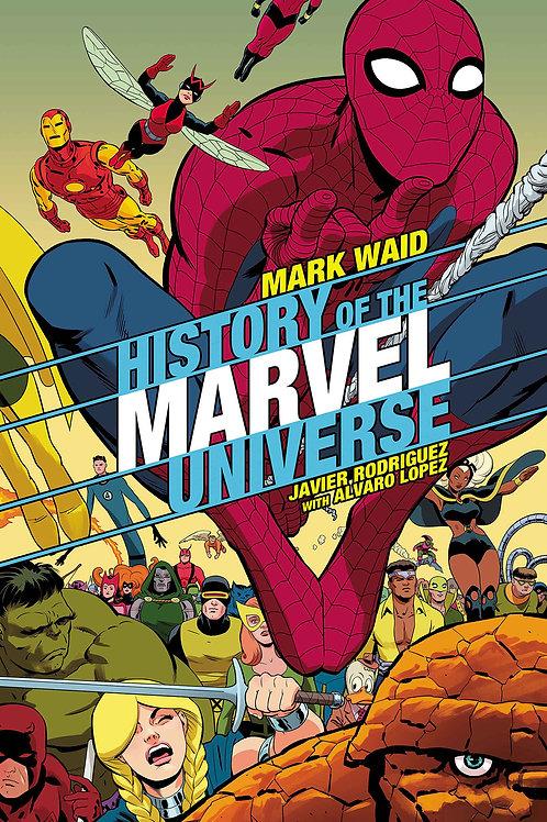 HISTORY OF MARVEL UNIVERSE #3 RODRIGUEZ VAR