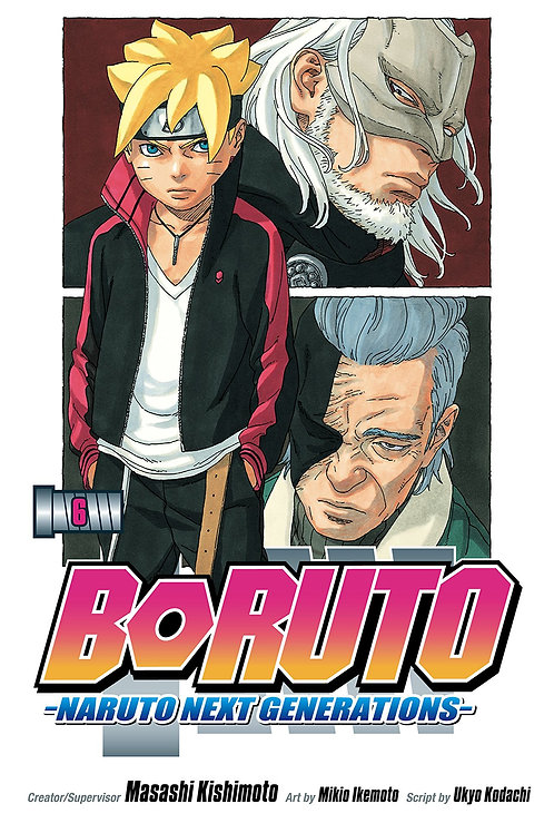BORUTO GN VOL 06 NARUTO NEXT GENERATIONS