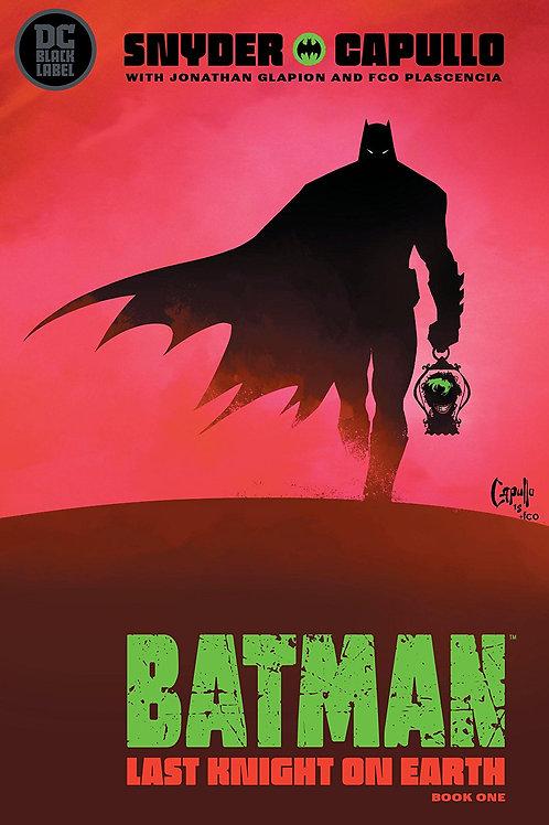BATMAN LAST KNIGHT ON EARTH #1 (OF 3) (MR)
