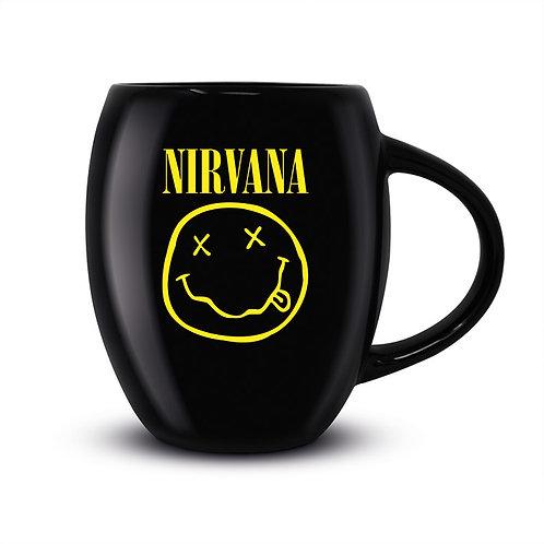 Кружка Nirvana (Smiley) Oval Mug MGO25666