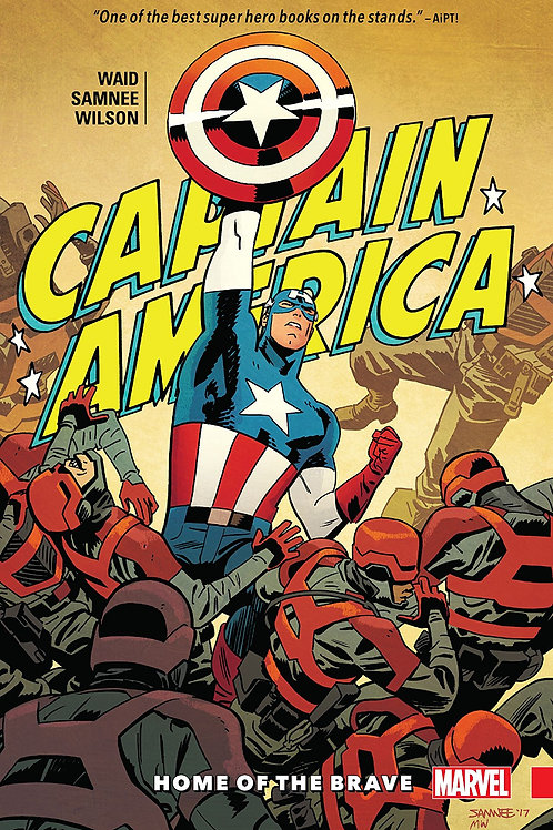 CAPTAIN AMERICA BY WAID AND SAMNEE TP VOL 01 HOME
