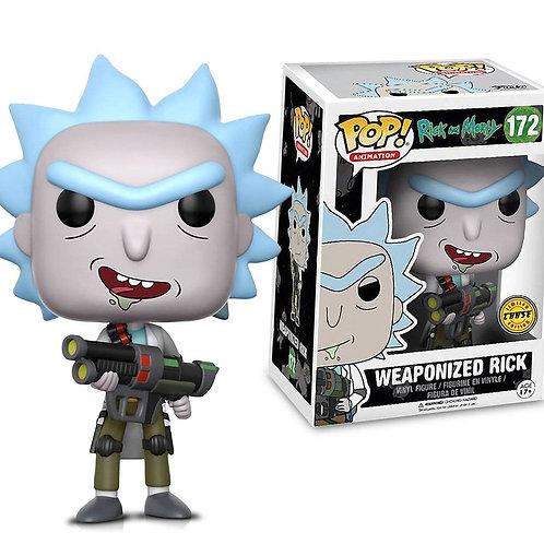 Фигурка Funko POP! Vinyl: Rick & Morty: Weaponized Rick (CHASE)