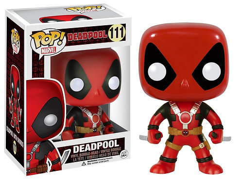 "Фигурка Funko POP! Bobble: Marvel: Deadpool: 10"" Deadpool ThumbsUp (RD) (Exc)"