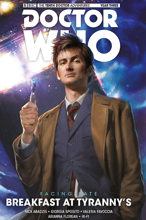 DOCTOR WHO 10TH FACING FATE HC VOL 01 BREAKFAST AT TYRANNY'S