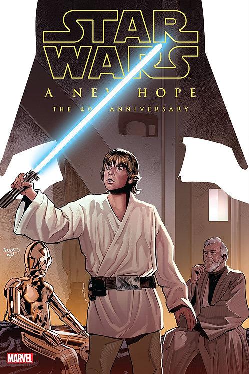STAR WARS NEW HOPE 40TH ANNIV HC