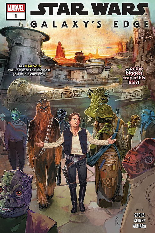 STAR WARS GALAXYS EDGE #1