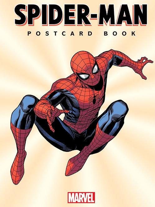 SPIDER-MAN POSTCARD BOOK HC