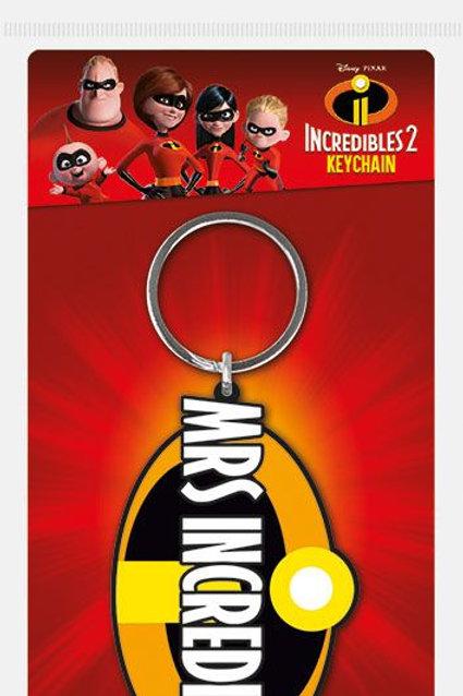 Лицензионный брелок Incredibles 2 (Mrs Incredible)
