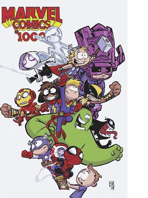 MARVEL COMICS #1000 YOUNG VAR
