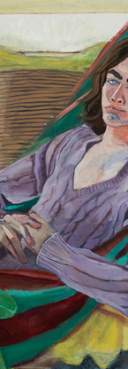 Cameron (after Liz Taylor), oil on canvas, 36 x 24 inches, 2016
