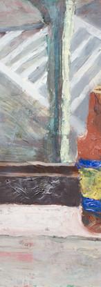 Crosswalks (2), Oil on gessoed paper, 22.50 x 30  inches, 2016