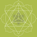 Merkaba Heart Logo