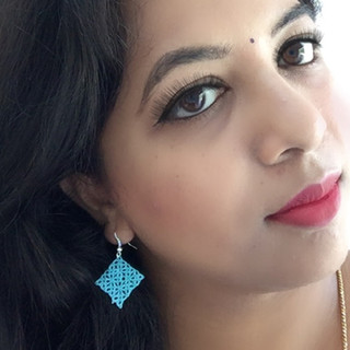 Tatting earrings