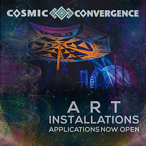 Art Instalations Application Cosmic Convergence
