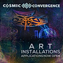 Art Instalations Application Cosmic Convergence