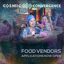 Food Vendor Application Cosmic Convergence