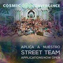 Street Team Application Cosmic Convergence