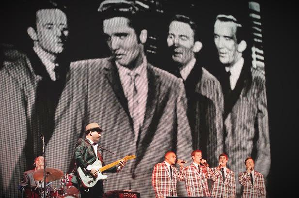 Brad Performs at Elvis In Concert