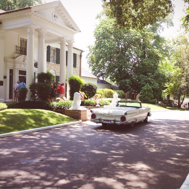Hanging out at Graceland