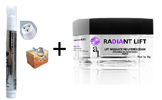 Combo lifting olhos+radiant
