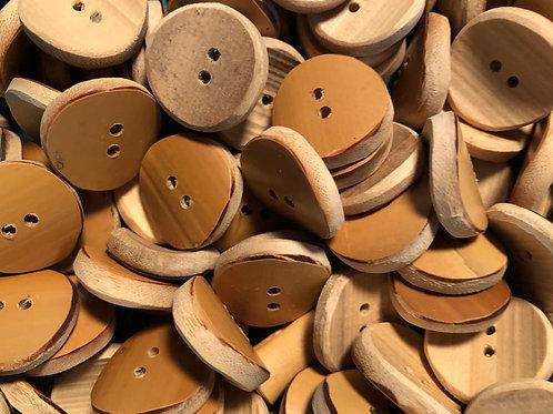 Botão de bambu