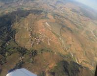 Village de Vergisson vue du ciel