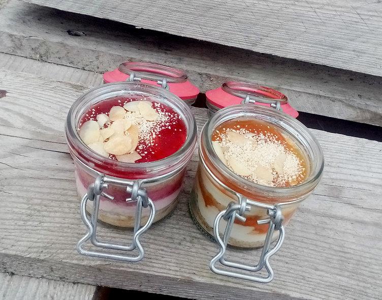 SET Erdbeer/Marillenknödel im Glas je 100g