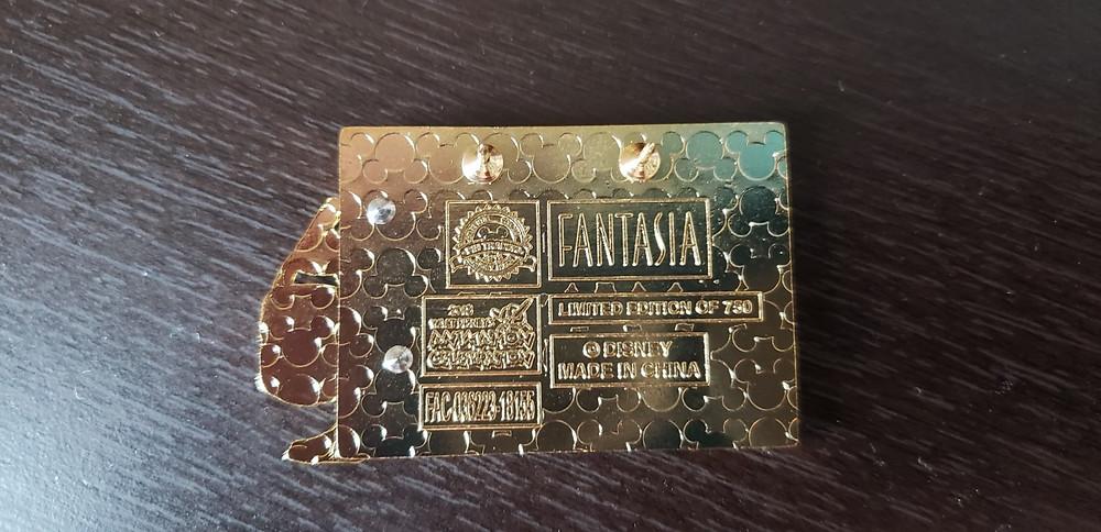 Walt Disney's Animation Celebration Fantasia Pin