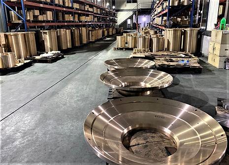 Bronze parts - Spare & Wear Parts