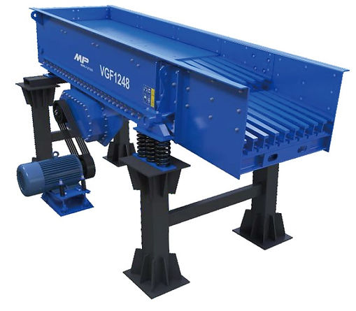 Twin Shaft Vibrating Grizzly Feeder